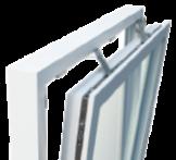 Fa ablak mechanikus zártámogatás