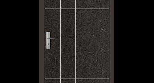 Stone kollekció, fa bejárati ajtók