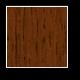 Tölgy bejárati fa ajtó Teak színben
