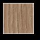 Tölgy bejárati fa ajtó Winchester színben